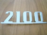 FIAT 2100 SCRITTA POSTERIORE REAR EMBLEM