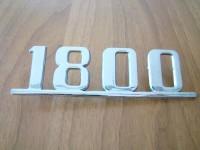 FIAT 1800 SCRITTA posteriore REAR EMBLEM NOS