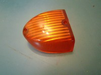 FIAT 1100 tv e convertibile PLASTICA FRECCIA POSTERIORE DESTRA RIGHT REAR ORANGE LENS