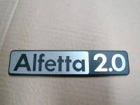 ALFA ROMEO GIULIETTA BERLINA 81 82 scritta posteriore badge