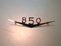 FIAT 850 vignale SCRITTA POSTERIORE REAR BADGE