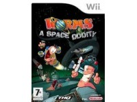 NINTENDO WII WORMS A SPACE ODDITY GIOCO NUOVO