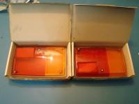 PEUGEOT 504 plastiche POSTERIORI REAR lenses