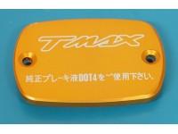2 COPERCHIO POMPA FRENO TMAX T-MAX ORO BRAKE RESERVOIR CAP
