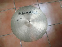 RIDE CRASH PIATTO BATTERIA ISTAMBUL MEL LEWIS SIGNATURE 19""