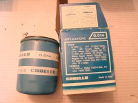 FIAT 124 SPIDER COUPE 132 LANCIA BETA FILTRO OLIO CARELLO OIL FILTER