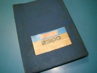 FIAT 2300 berlina coupe catalogo ricambi parts catalogue