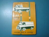 FIAT 1100T 1100 T CATALOGO RICAMBI PARTS CATALOGUE MANUAL