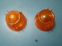 RENAULT 4 L TL plastiche anteriori front lenses tacchetti pedali pedal pads