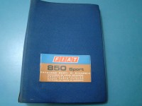 FIAT 850 SPORT COUPE SPIDER CATALOGO RICAMBI PARTS CATALOGUE MANUAL