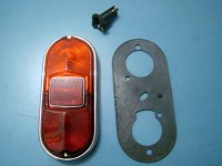 FIAT 1300 1500 BERLINA COUPE VIGNALE SIATA FARO POSTERIORE REAR LIGHT