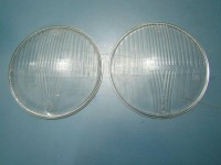 FIAT 600 VETRi FARi siem NUOVi HEADLIGHT GLASSES LENSES