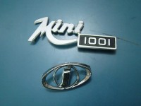 INNOCENTI MINI 1001 DUE SCRITTE EMBLEMS BADGES