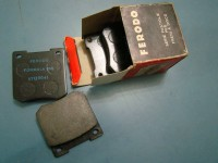 FORD CAPRI CORTINA PASTICCHE FRENI BRAKE PADS