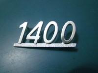 FIAT 124 SPORT COUPE' SCRITTA 1800 BADGE