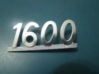 FIAT 124 SPORT COUPE' SCRITTA 1400 BADGE