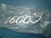 ALFA ROMEO GIULIA SUPER 1600 BOLLINO ORO SCRITTA POSTERIORE REAR BADGE
