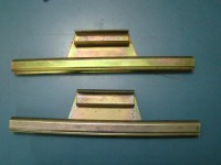 AUTOBIANCHI A112 STAFFE VETRI LATERALI SIDE GLASSES RAILS FRAMES
