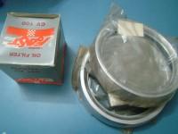 FIAT 238 CERCHI FARO filtro olio HEADLIGHT BEZELS RIMS RINGS PULMINO AUTOCARRO filter