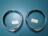 PEUGEOT 204 BERLINA CERCHI FARO HEADLIGHTS RINGS