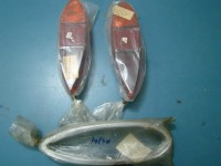 FORD TAUNUS M17 PLASTICHE POSTERIORI REAR LENSES