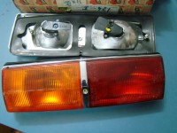 FIAT 124 BERLINA COUPE VIGNALE EVELINE FARI POSTERIORI REAR LIGHTS