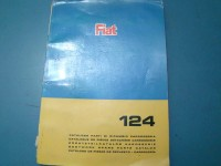 FIAT 124 BERLINA CATALOGO RICAMBI PARTS CATALOGUE MANUAL