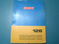 FIAT 128 berlina CATALOGO RICAMBI PARTS CATALOGUE MANUAL