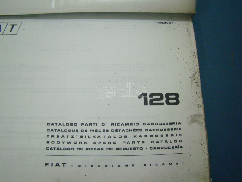 1970 fiat 124 sport spider owners manual