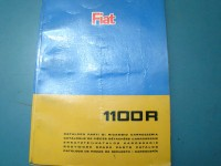 FIAT 1100R CATALOGO RICAMBI PARTS CATALOGUE MANUAL