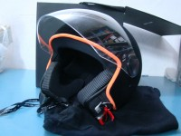 ITALIAN INDEPENDENT CASCO JET HELMET VELVET NERO TAGLIA 58 MEDIUM