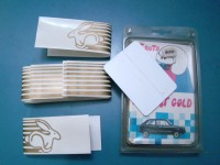 VOLKSWAGEN GOLF RABBIT STICKERS DECALS LATERALI