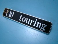 AUTOBIANCHI Y10 TOURING SCRITTA BADGE