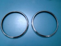 FIAT 1400 BERLINA CABRIOLET CERCHI FARO HEADLIGHTS RINGS