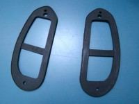FIAT 600 GUARNIZIONI FARI POSTERIORI REAR LIGHT GASKETS