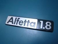 ALFA ROMEO ALFETTA BERLINA 1.8 SCRITTA POSTERIORE BADGE