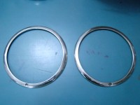 FIAT 1400 1950 CERCHI FARO HEADLIGHTS RINGS