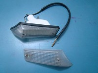 CITROEN AMI8 AMI 8 FARETTO ANTERIORE PLASTICA FRONT LIGHT AND LENS