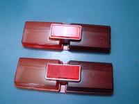 FIAT 124 SPECIAL T PLASTICHE POSTERIORI e CATADIOTTRI REAR LENSES REFLECTORS