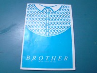 BROTHER ARIANNA KR-840 MANUALETTO MANUALE ORIGINALE