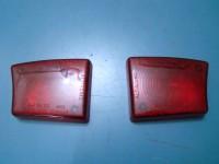 LANCIA FLAVIA VIGNALE CONVERTIBILE ZAGATO PLASTICHE POSTERIORI REAR LENSES red