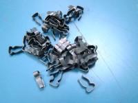 FIAT 1100/103 30 clips mollette MODANATURE SOTTOPORTA side trims