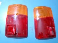 FIAT 126 PLASTICHE POSTERIORI TAIL REAR LENSES
