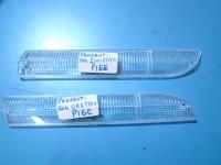 PEUGEOT 504 2 PLASTICHE ANTERIORI FRONT LENSES