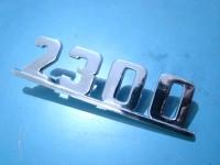 FIAT 2300 SCRITTA posteriore REAR EMBLEM