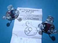 FIAT 1100 600 500 750 APPENDIABITI ATTACCAPANNI PALLINO TRASPARENTE