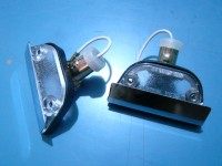 ALFA ROMEO DAUPHINE LUCI TARGA LICENSE PLATE LIGHTS