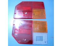 FIAT 128 SPECIAL PLASTICHE POSTERIORI REAR LENSES ARIC RETROMARCIA