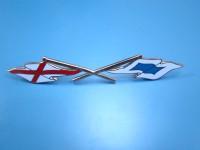 LANCIA VIGNALE APPIA FIAT TRIUMPH 1 BANDIERINA FLAG EMBLEM