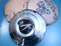SIMCA 1000 tre 3 borchie ruota hub caps cups STEMMA NERO